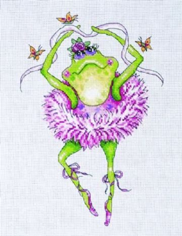 Frog Dancer  Cross Stitch Kit from Design Works- 2757